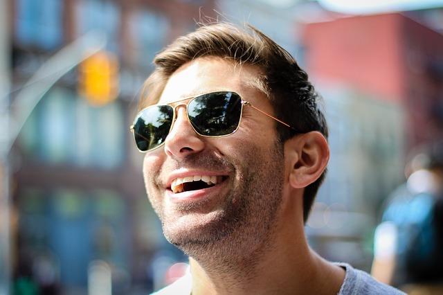 lunettes de soleil à la mode